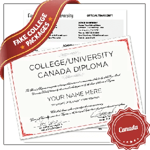 Fake Canada University Degrees with Transcripts