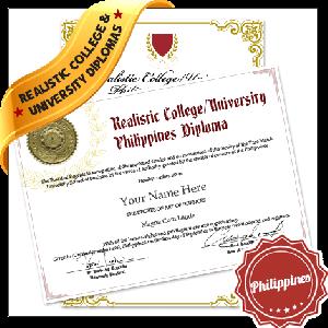 Realistic Fake College Diploma Philippines