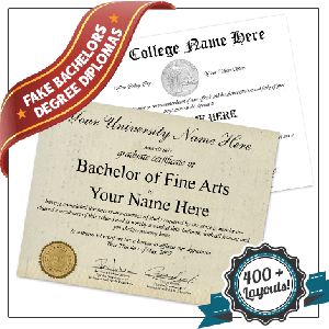 Fake USA College Diplomas and Transcripts