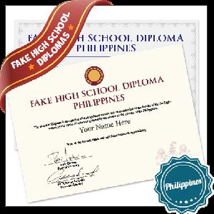 Fake High School Diploma Philippines