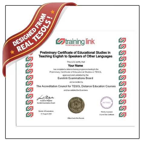 Highest quality Fake TESOL Certificate from BuyaFakeDiploma.com! 100% Guaranteed! Best TESOL fake!