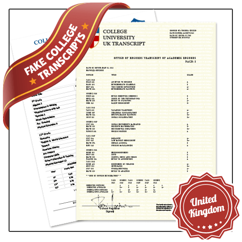 Get best in College University UK Transcripts! Features Real College Coursework, Custom Grades. Embossed on Real Paper. Amazing Quality.