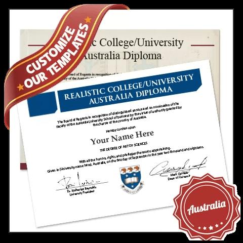 Jaw Dropping Fake University Degrees Australia Online! Captures Real Diploma Detail! Amazing Realism!