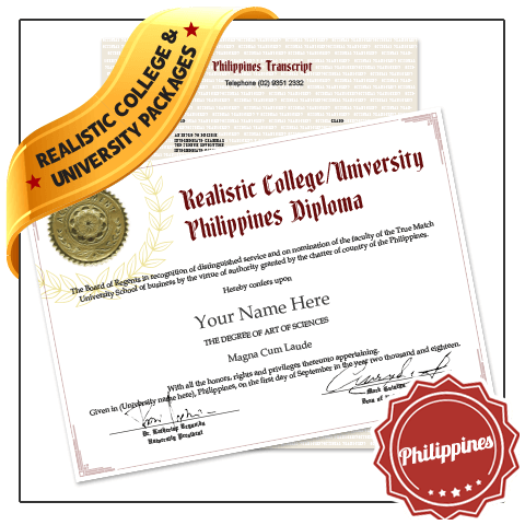 college and university diploma and transcripts Philippines