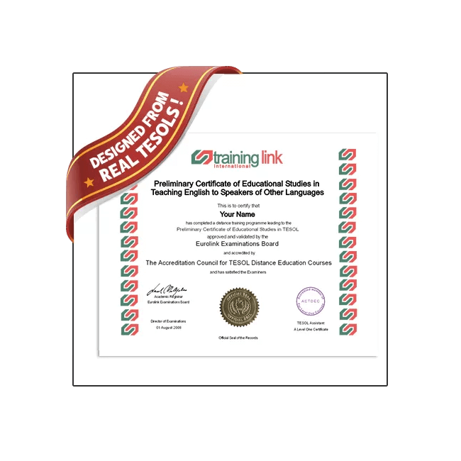 Highest quality Fake TESOL Certificate from BuyaFakeDiploma.com! 100% Guaranteed! Best TESOL fake!