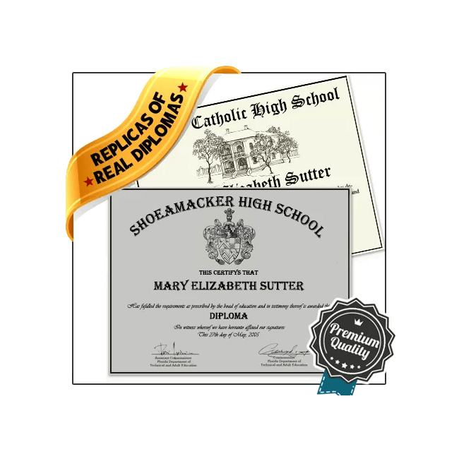 Find Realistic Replica High School Diploma from BuyaFakeDiploma.com! omg ... AMAZING! MOST REAL! YOU HAVE TO SEE THIS!