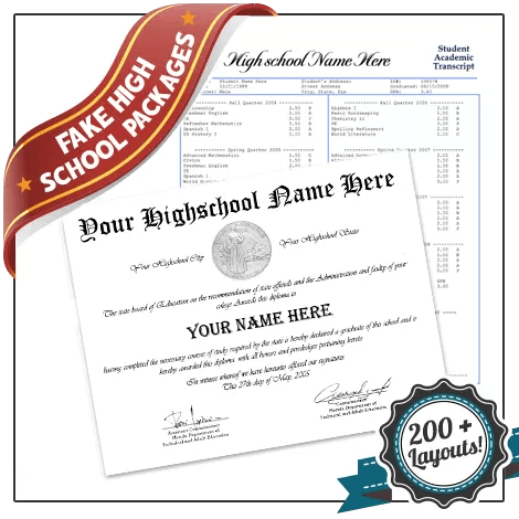 Buy High School Diplomas and Transcripts