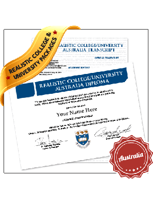 fake college diploma and transcript australia university