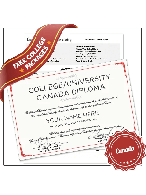 fake diploma and transcript canada college university