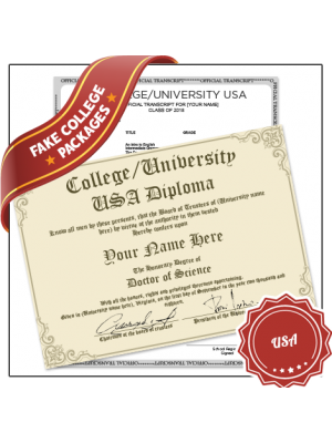 fake diploma from usa college university