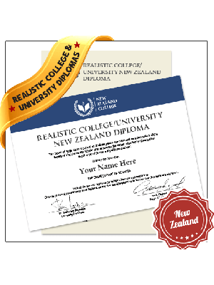 fake new zealand college diploma university