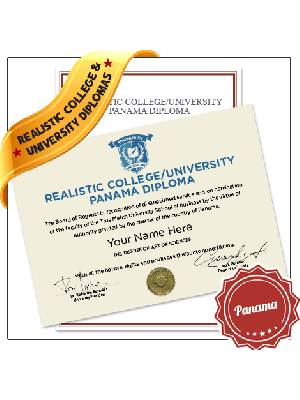 fake panama college diploma university