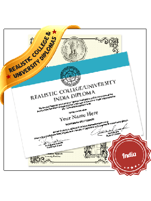 replica college diploma India univeristy